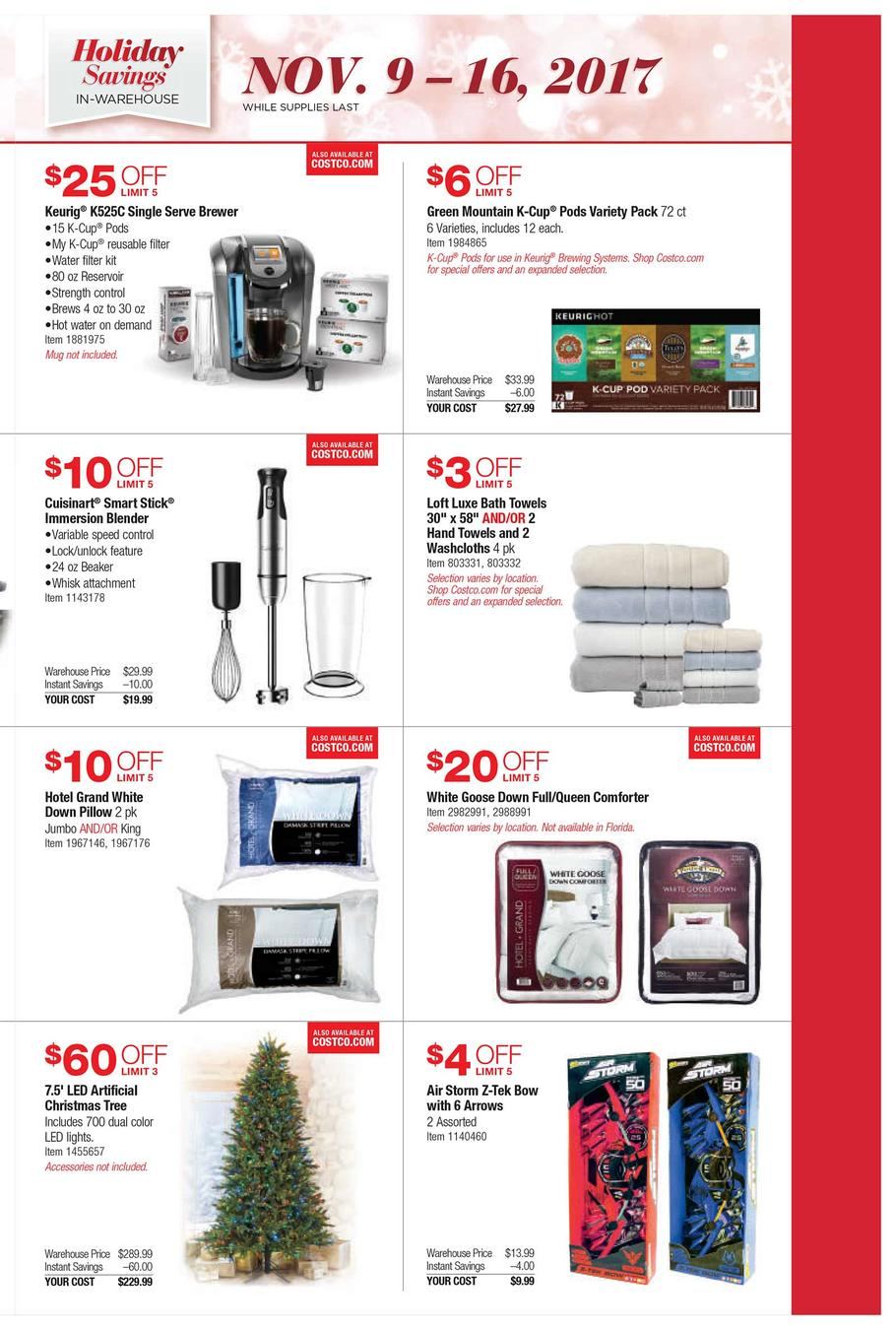 Browse Costco Black Friday Deals, Appliance Sales & antminekraft85.tk't miss the Costco Canada Black Friday Flyer Sale on appliances, computers, electronics, automotive, tires, furniture, mattresses, gift cards, groceries, beauty products, clothing jewellery, pet supplies, sporting goods, office supplies, and more.