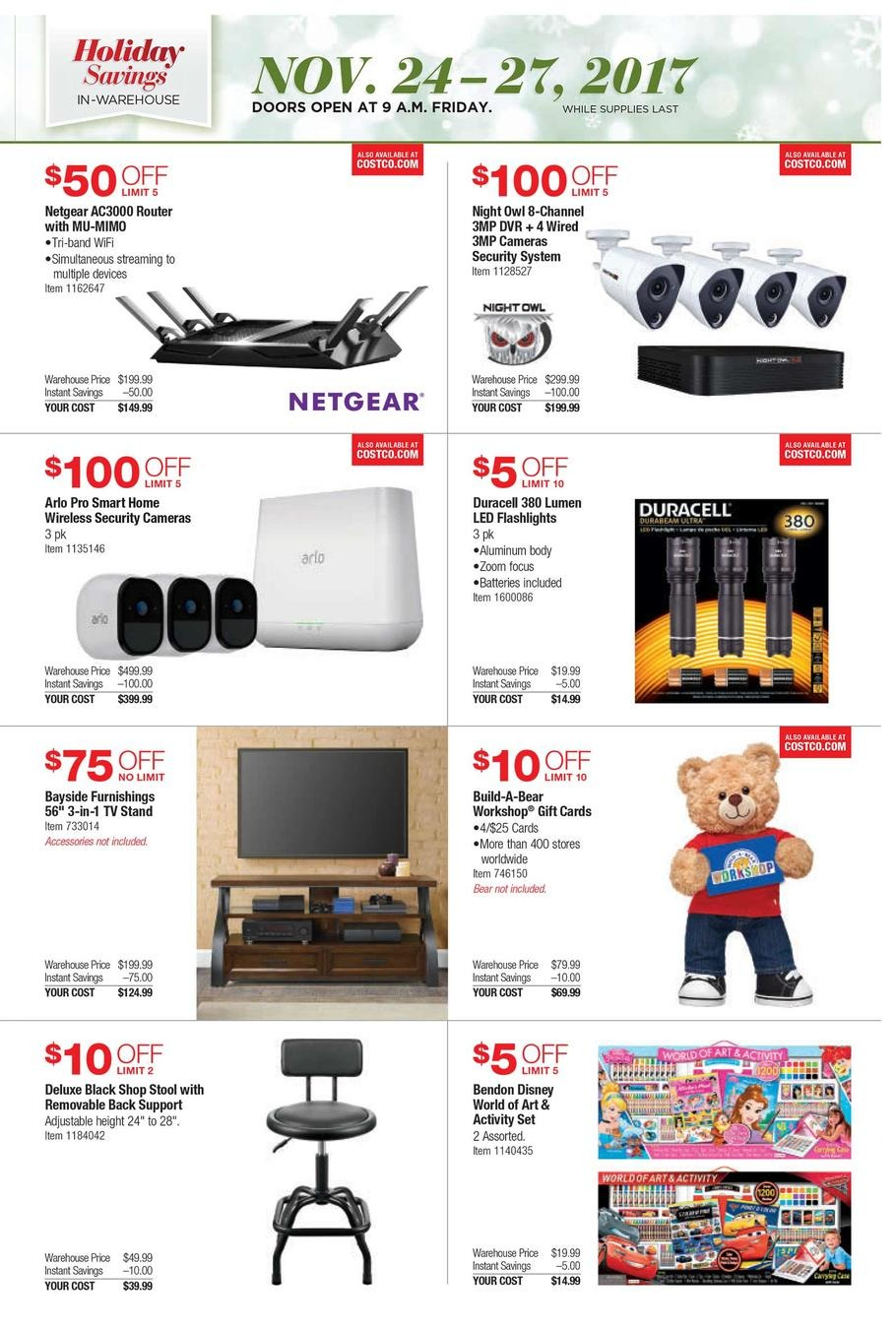 Find a great collection of Black Friday Event at Costco. Enjoy low warehouse prices on name-brand Black Friday Event products.