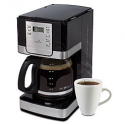 Deals List: Mr. Coffee 12-Cup Programmable Coffee Maker - Stainless Steel/Black
