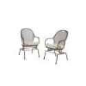 Deals List: Hampton Bay Vera Patio Dining Chair with Cushions (2-Pack)