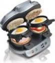 Deals List: Hamilton Beach 25490 Silver Dual Breakfast Sandwich Maker