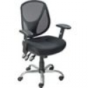 Deals List: Staples Acadia Ergonomic Mesh Mid-Back Office Chair with Arms, Black