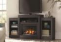Deals List: Belarro 72 in. Tri-Level Media Console Electric Fireplace in Black