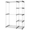 Deals List: Whitmor 6779-3044 Double Rod Closet, Silver