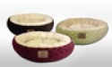 Deals List: AKC Diamond Fur XL Round Pet Bed