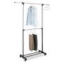 Deals List: LivingQuarters Adjustable Double-Rod Garment Rack