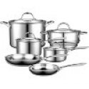 Deals List: Cooks Standard Multi-Ply Clad Stainless-Steel 10-Piece Cookware Set