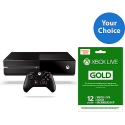 Deals List: Xbox One with 12-Month Live Gold Membership Bundle