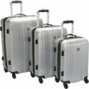 Deals List: Travelers Choice Cambridge 3 Piece Hardshell Spinner Luggage Set
