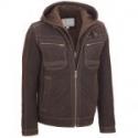 Deals List: Wilsons Leather Mens Suede Hooded Jacket