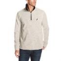 Deals List: Nautica Men's Solid 1/4 Zip Sweater