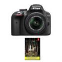Deals List: Nikon D3300 24.2 MP DSLR with 18-55mm VR II Lens Refurbished with Adobe LR5
