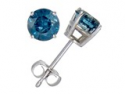 Deals List: Vir Jewels FD9S0.25BUW_I2 Blue Diamond Studs, 0.25CT - 1.15CT