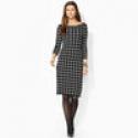 Deals List: Ralph Lauren Cap-Sleeved V-Neck Womens Dress