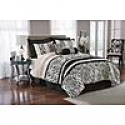 Deals List: The Great Find 8-Piece Zebra Print Bedding Set