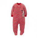 Deals List: Carter's® Baby Boys Striped Moose Microfleece Footie