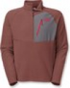 Deals List: The North Face Tech 100 Men's Fleece Jacket (cherry stain brown or scallion green)