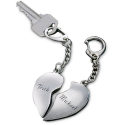 Deals List: Personalized Split Heart Key Chain