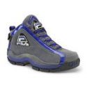 Deals List: Fila Men's The 96 Pewter/Black/Blue High-Top Athletic Shoe