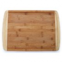 "Deals List: Culina Bamboo 1"" Cutting Board, Carved Drain, Large 17.5"" X 12.5"""