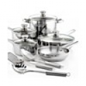 Deals List: Tools of the Trade Stainless Steel 12 Piece Cookware Set