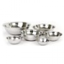 Deals List: (Set of 6) Dozenegg Mixing Bowls Standard Weight Stainless Steel, Mirror Finish, 3/4, 11/2, 3, 4, 5, and 8 Qt