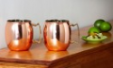 Deals List: 2-Pack 24-Ounce Solid Copper Moscow Mule Mugs