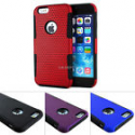 Deals List: Mesh Hybrid Hard Soft Silicone Case Cover+Screen Protector For iPhone