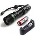 Deals List: Powerful 2000 Lumen CREE XM-L T6 Tactical LED Flashlight Torch +Battery+Charger
