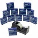 Deals List: 3M Highland Desktop Dispenser & 12 Rolls Of Invisible Tape 6200 Desk 6200K12-DVP