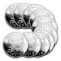 Deals List: 1 oz Silver Buffalo Round .999 Fine (Lot of 10)