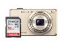 Deals List: Sony DSCWX220 18.2MP Digital Camera and 16GB SanDisk Memory Card