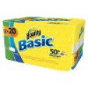 Deals List: 2 Bounty Basic Select-A-Size Paper Towel 12 Pack + FREE $5 Gift Card