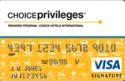 Deals List: The Choice Privileges® Visa® Card