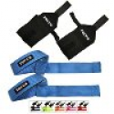 Deals List: Popular FOCUS Neoprene Padded Lifting Straps with Reinforced Double Stitching Wrist Wraps Set for Gym Weight Lifting