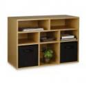 Deals List: Essential Home 8 Cube Storage Unit Espresso