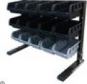 Deals List:  Husky 15-Compartment Steel Storage Rack (BR-15WF, black)