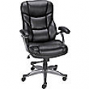 Deals List: Staples Osgood Bonded Leather Managers Mid-Back Chair, Black