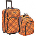 Deals List: U.S. Traveler 2-Pc Carry-On Rolling Upright and 3 Colors Luggage Set
