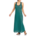 Deals List: Revolution Women's Chevron Stripe Essential Tank Maxi Dress