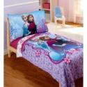 Deals List: Disney Frozen Elsa & Anna 4-Piece Toddler Bedding Set