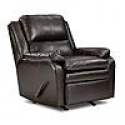 Deals List: Simmons Upholstery Baron Leather Rocker Recliner