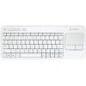Deals List: Logitech Wireless Touch Keyboard k400 with Built-in Multi-Touch Touchpad, White