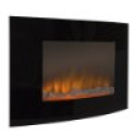 Deals List: Large 1500W Heat Adjustable Electric Wall Mount Fireplace Heater with Glass