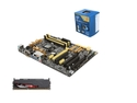 Deals List: SuperCombo Upgrade Pack: Intel Core i5-4590 Haswell Quad-Core 3.3GHz CPU, ASUS Z87-A NFC Express Edition MOBO, G.SKILL Sniper Series 8GB MEM