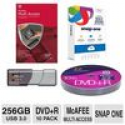 Deals List: PNY 256GB Turbo USB 3.0 Flash Drive / Color Research DVD+R 10 Pack / McAfee 2015 MultiAccess / Snap One Bundle