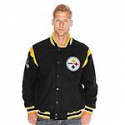 Deals List: Men's NFL Two Minute Drill Varsity Jackets w/ Leather Trim (select teams)