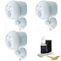 Deals List: Mr Beams 300-Lumen Wireless Battery Powered LED Ultra Bright Spotlight 3-Pack (White)