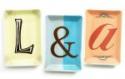 "Deals List: Rosanna Porcelain Typography Tray 2.75"" x 4"""