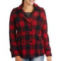 Deals List: Essential Wool Blend Womens Peacoat